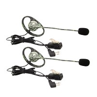 Midland AVP-H7 Mono Earset - Wired Connectivity - Mono - Over-the-ear FOR ALL MIDLAND 2WAY RADIOS - AVPH7