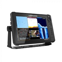 Lowrance HDS12 Live MFD With 3-In-1 Transducer 055-14428-001 Factory Renewed