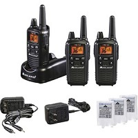 Midland LXT633VP3 Two-Way Radio Three Pack - 22 Radio Channels - UHF, FRS, GMRS - LXT633VP3