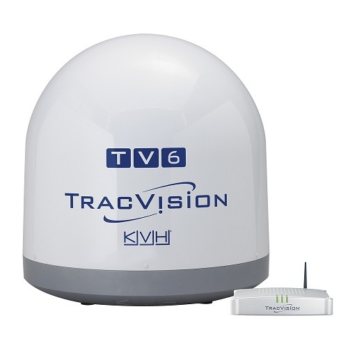 KVH Tracvision TV6 Satellite Linear Autoskew And GPS - # 01-0369-02