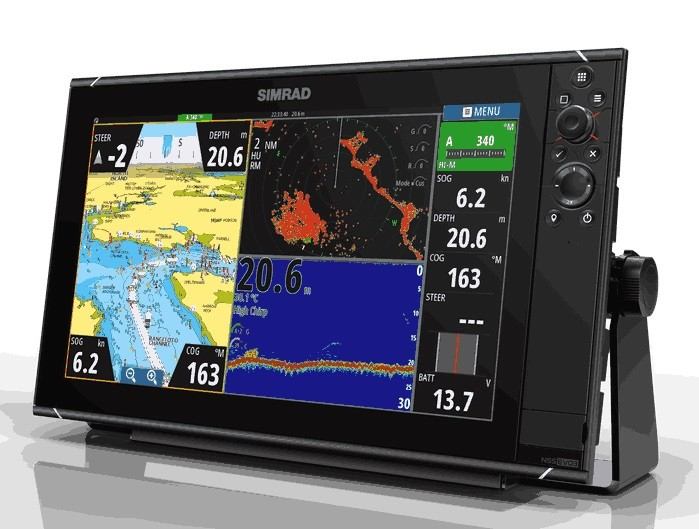 Simrad NSS16 EVO3 Combo MFD With Insight - # 000-13236-001
